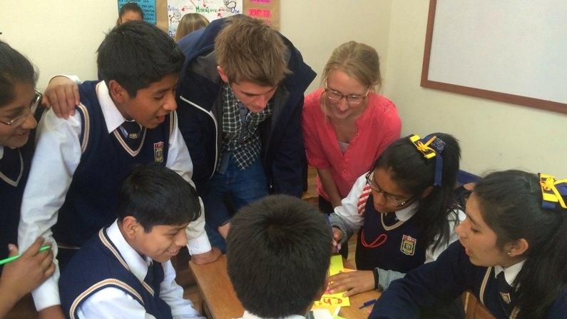 NGO Taxi Volunteering at Schools in Peru