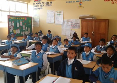 Become an Assistant Teacher in Various Schools in the Andes (Peru)
