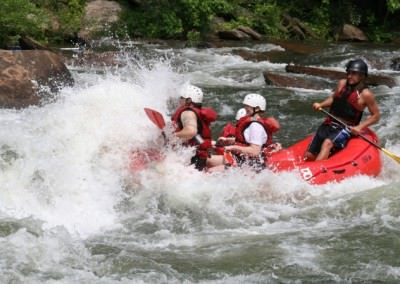 Join us for an unforgettable Rafting Adventure in Peru (1 Day)