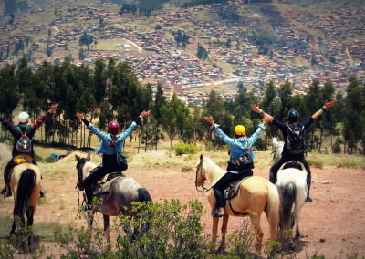 Explore the Archaeology and Mysticism of Cusco on Horseback in Peru (1 Day)!